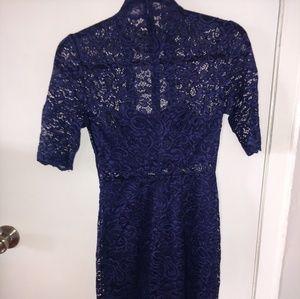 Express navy blue dress!